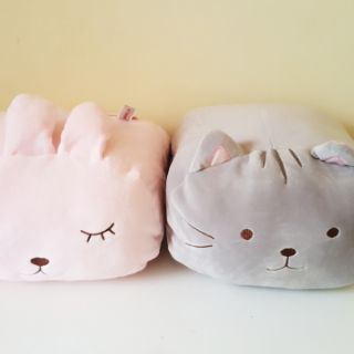 MINISO NAP PILLOWS Squishy Plushies Cat Bunny Rabbit Shopee Philippines
