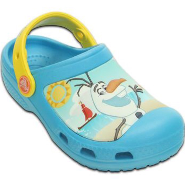38ad2d634 Crocs Frozen Olaf Kids Clogs - Electric Blue