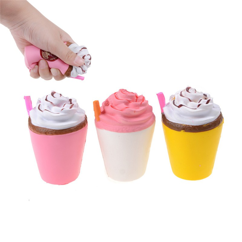 11CM Jumbo Cute c Squishy Slow Rising Cream Scented Fun Kids Toys Gifts | Shopee Philippines