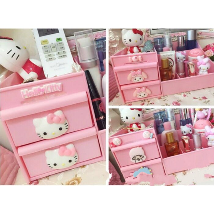 HK and SHEEP Cosmetic Makeup Jewelry Organizer Storage Shopee