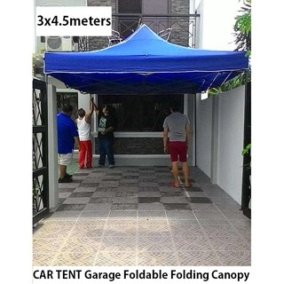 like 157  sc 1 st  Shopee.ph & CAR Garage Tent Foldable Folding Canopy Retractable 3x4.5 | Shopee ...