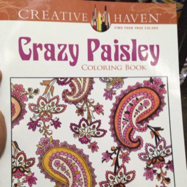 Creative Haven Crazy Paisley