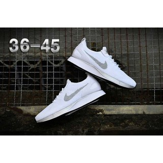 check out b9e6c f55d6 Nike Air Zoom Mariah Flyknit Racer White Silver Men Women   Shopee  Philippines