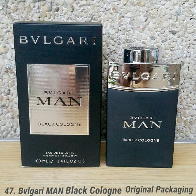 cffe342bfd Bvlgari Man Black Cologne 100ml 47. Original Packaging MEN | Shopee  Philippines
